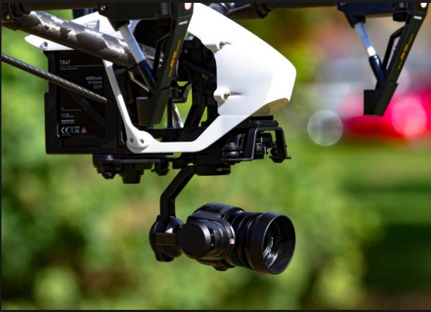 Inspire 1 PRO - filmowanie z drona